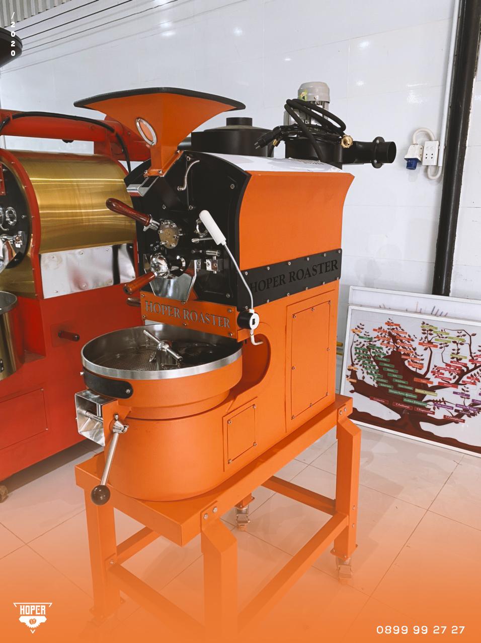 Máy rang cafe mini Hoper Roaster công suất 1kg