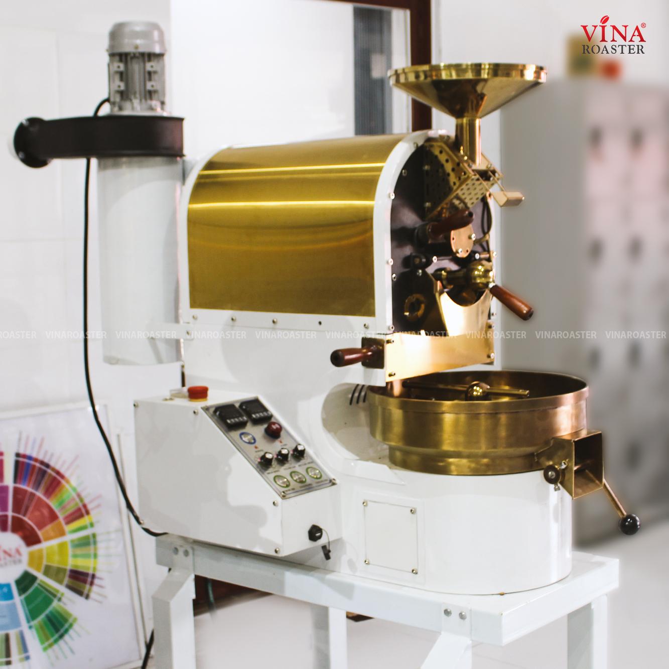 Máy rang cafe mini Brotek công suất 01kg