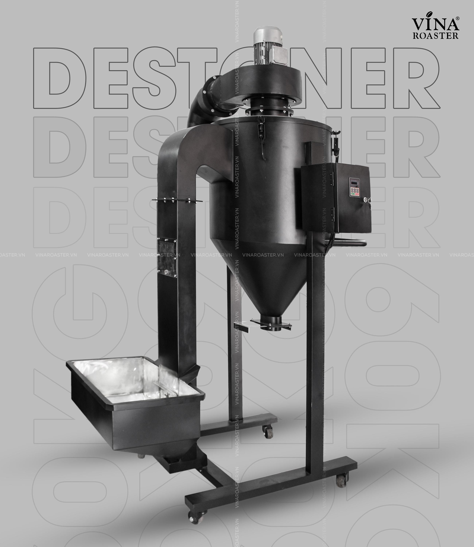 Máy tách đá cafe Vina Roaster sau rang công suất 60kg