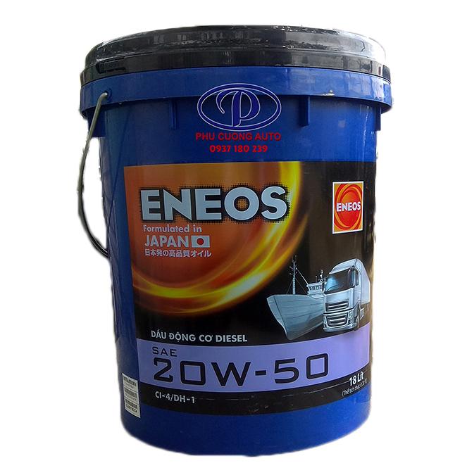Nhớt động cơ Diesel chuẩn API CI-4/DH-1 xô 18 lít