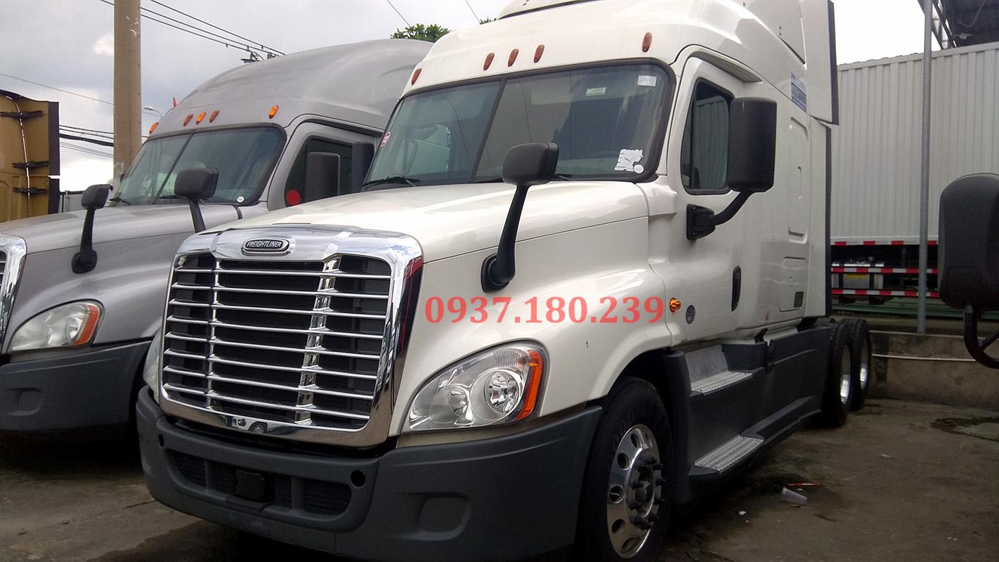 Xe đầu kéo Mỹ Freightliner Cascadia năm 2015