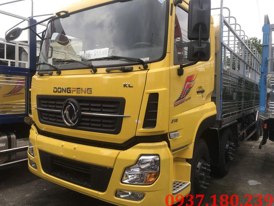 xe tải nhập khẩu dongfeng hoàng huy 4 chân
