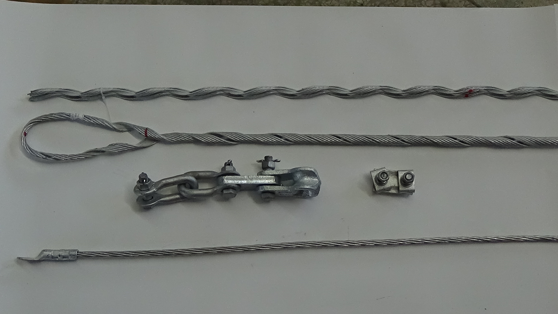 Preformed line tension / suspension clamp Phụ kiện cáp OPGW China