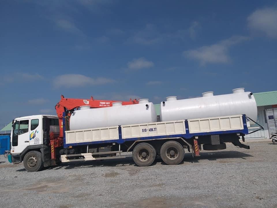 Báo giá bồn xử lý nước thải composite