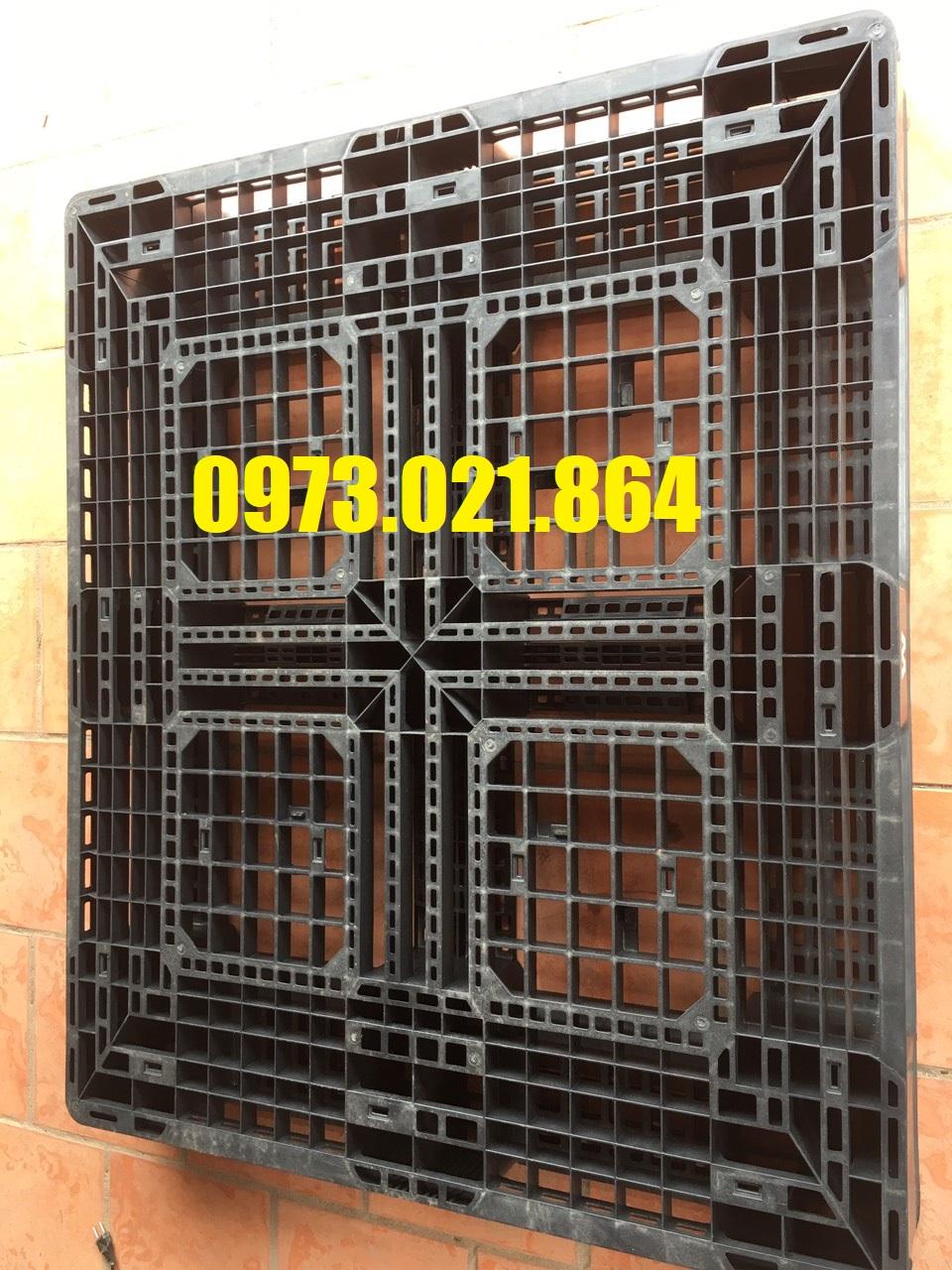 Pallet nhựa cũ tại Đồng Nai giá rẻ cạnh tranh, liên hệ 0973.021.864