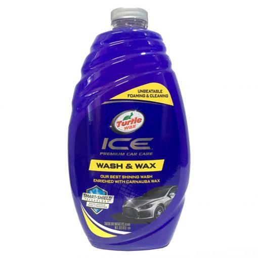 Dung dịch rửa xe ô tô bóng sơn Turtle Wax Ice Wash & Wax