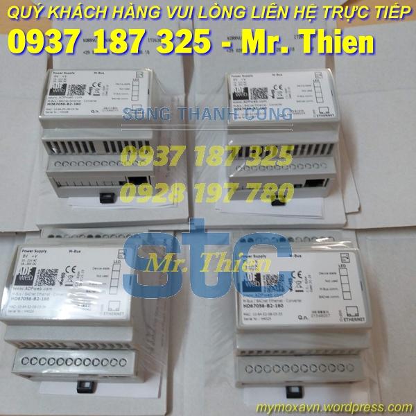 HD67648-A1-232-422 – Bộ chuyển đổi Ethernet sang RS232/ RS422 – Nhà phân phối ADFweb Vietnam