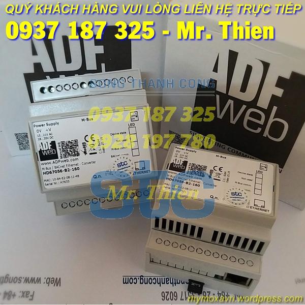 HD67056-B2-250 – Thiết bị chuyển đổi Mbus BACnet 250 kết nối – Nhà phân phối ADFweb Vietnam