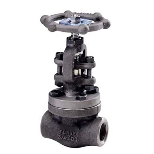 F22 Forged Steel Globe Valve, T-Pattern, API 602, 2IN, 1500 LB, SW