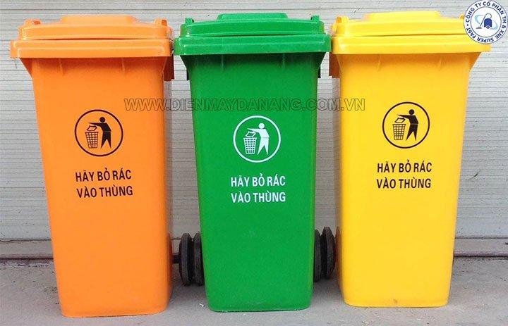 Thùng rác tại Quảng Nam