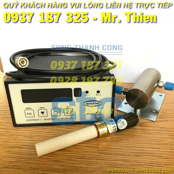 Superdew 3 – SD3 – Thiết bị đo độ ẩm – Shaw Vietnam – Đại diện cung cấp Shaw Meter
