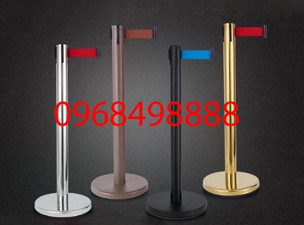Cột chắn inox dây kéo - thiết bị phải có tại các chương trình sự kiện - Poliva.vn