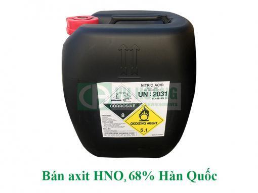 Bán hóa chất axit nitric giá tốt miền Bắc