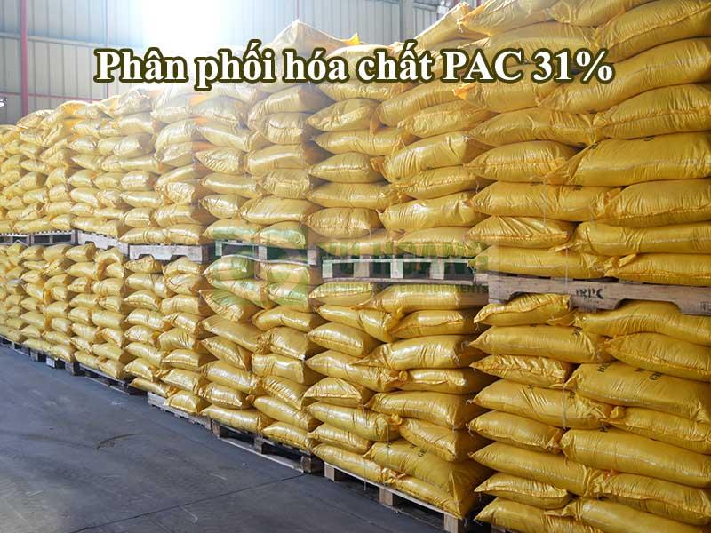 Bán hóa chất PAC 31% giá rẻ uy tín-Hóa Chất Vũ Hoàng