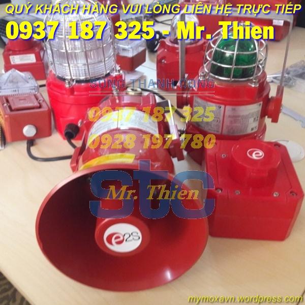D1XC1X05RAC230BN1A1R/R – Đèn còi báo động kết hợp – E2S Vietnam – Đại diện phân phối E2S tại Việt Nam