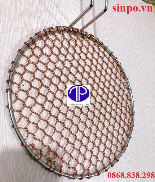 Vỉ nướng đồng kiểu lưới, Kiểu mắt cáo cao cấp