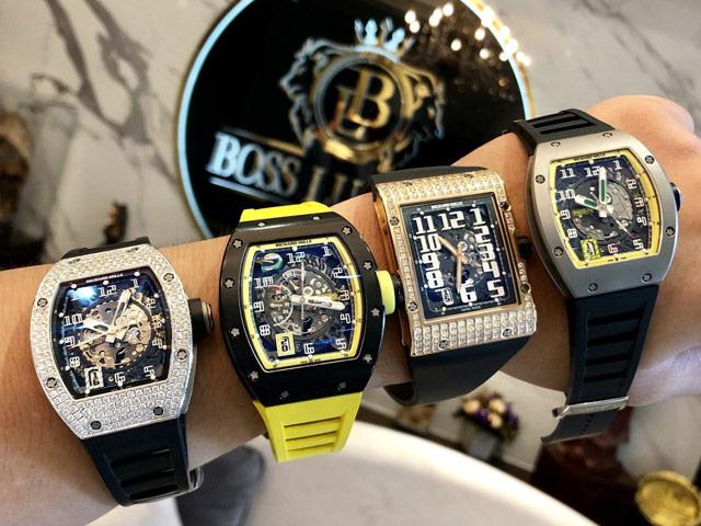 Địa chỉ bán đồng hồ Richard Mille Replica ở Hồ Chí Minh