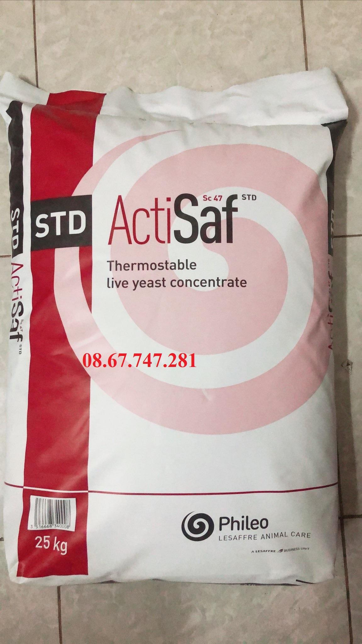 Nấm men đậm đặc Actsaf phòng ngừa phân trắng