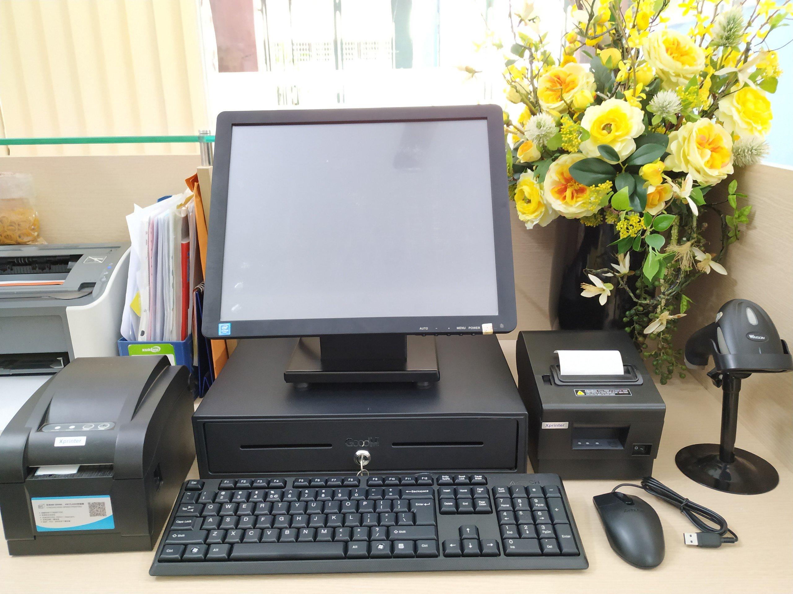 Máy tính tiền cho mô hình Thời Trang