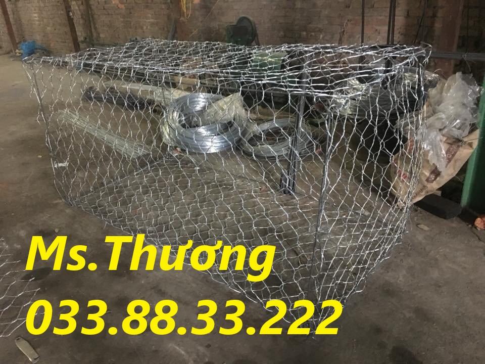 Rọ đá mạ kẽm giá tốt tại Hà Nội, sản xuất rọ đá theo yêu cầu