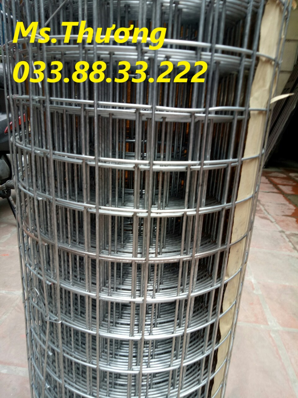 Sản xuất lưới hàn D4,D5,D6 theo yêu cầu