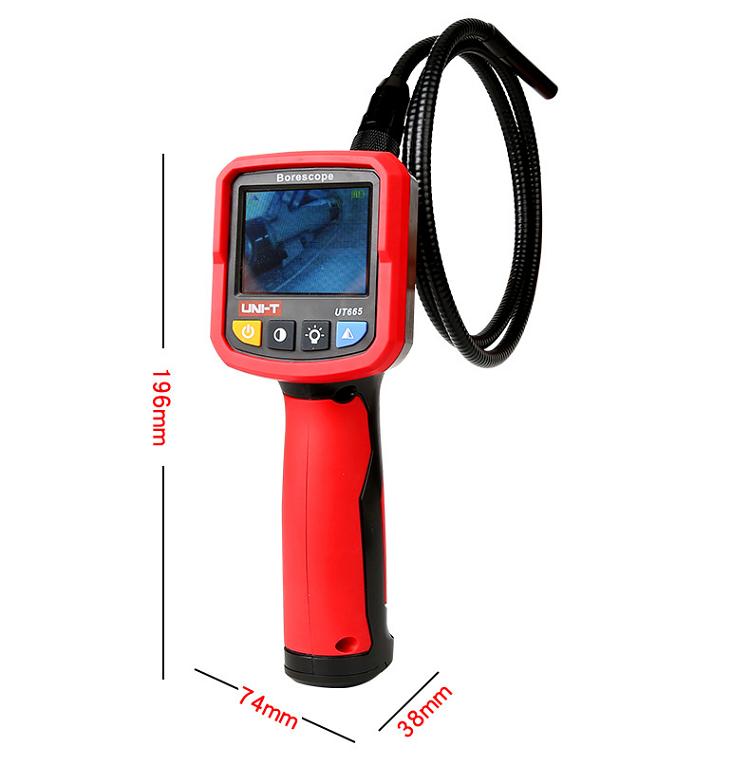 Borescope giá rẻ – Camera nội soi cầm tay chuyên nghiệp UT665