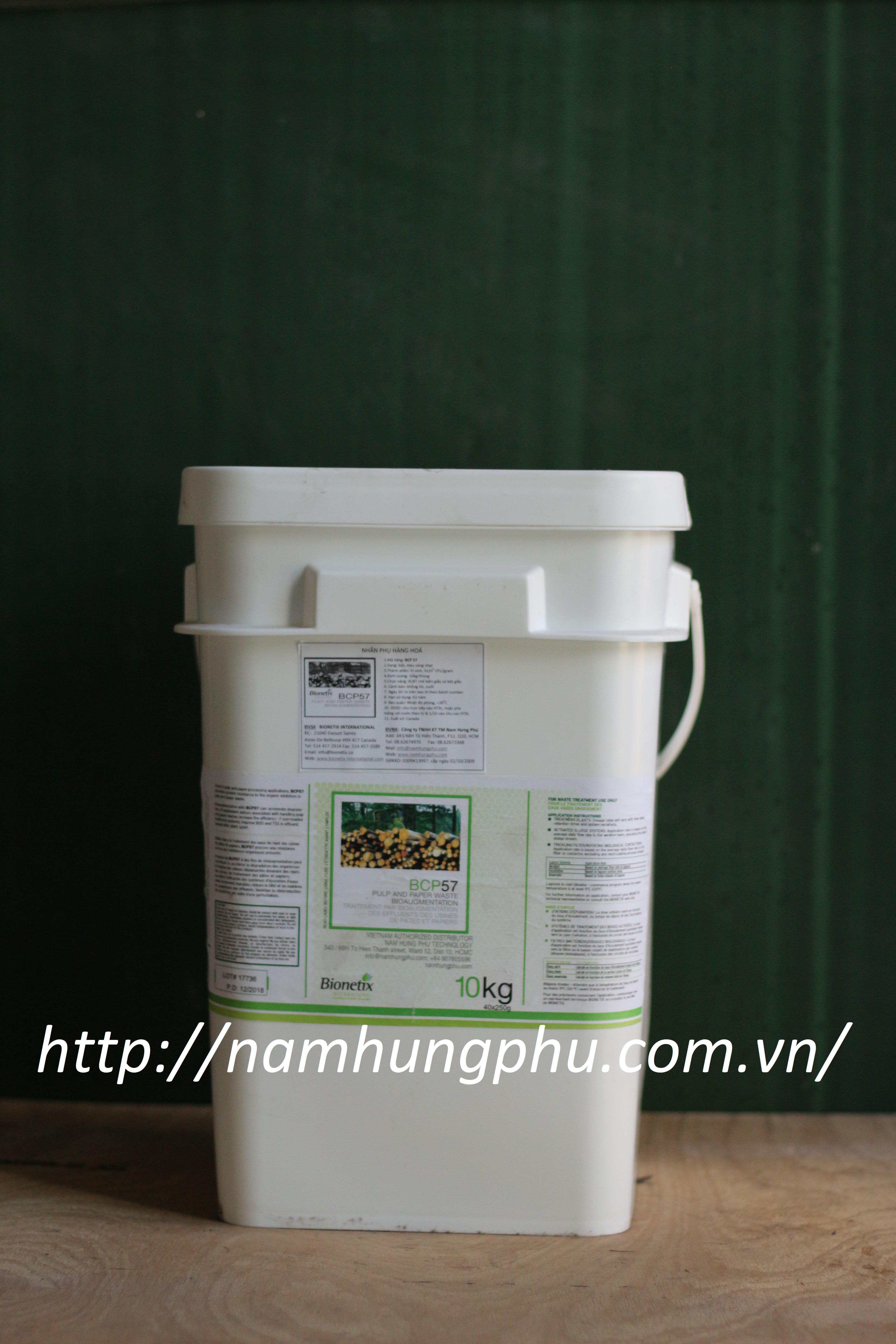 Men vi sinh xử lý nước thải ngành giấy và bột giấy BCP57 (Bionetix)
