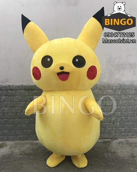 Mascot Pikachu