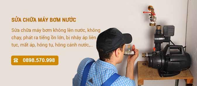 Sửa chữa máy bơm nước tại nhà Hà Nội giá rẻ - 0898570998
