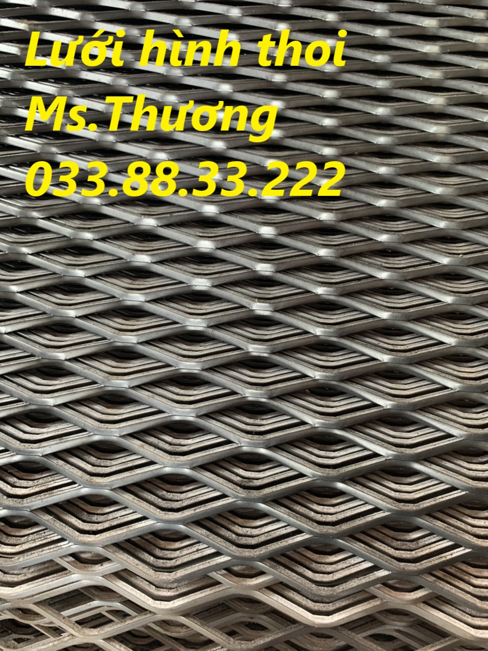Lưới sắt mắt cáo LAX20, lưới hình thoi giá tốt tại Hà Nội