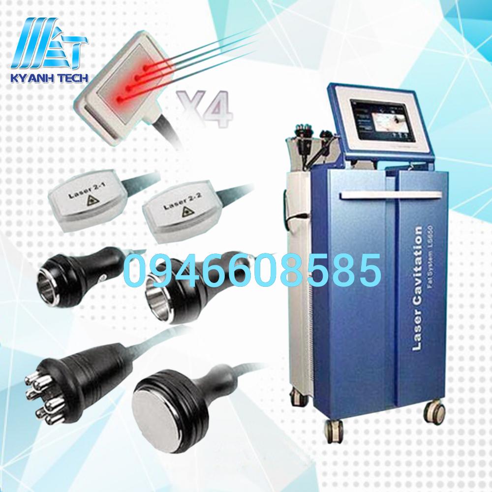 máy spa thiết bị Máy giảm béo Laser Cavitation LS650
