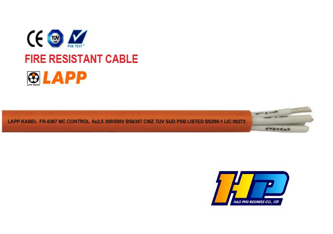 CUỘN 305M - CÁP TÍN HIỆU ĐIỀU KHIỂN CHỐNG CHÁY FR-6387 MC CONTROL 2X2.5MM2 OG - Cáp nhập khẩu giá tốt HCM chính hãng