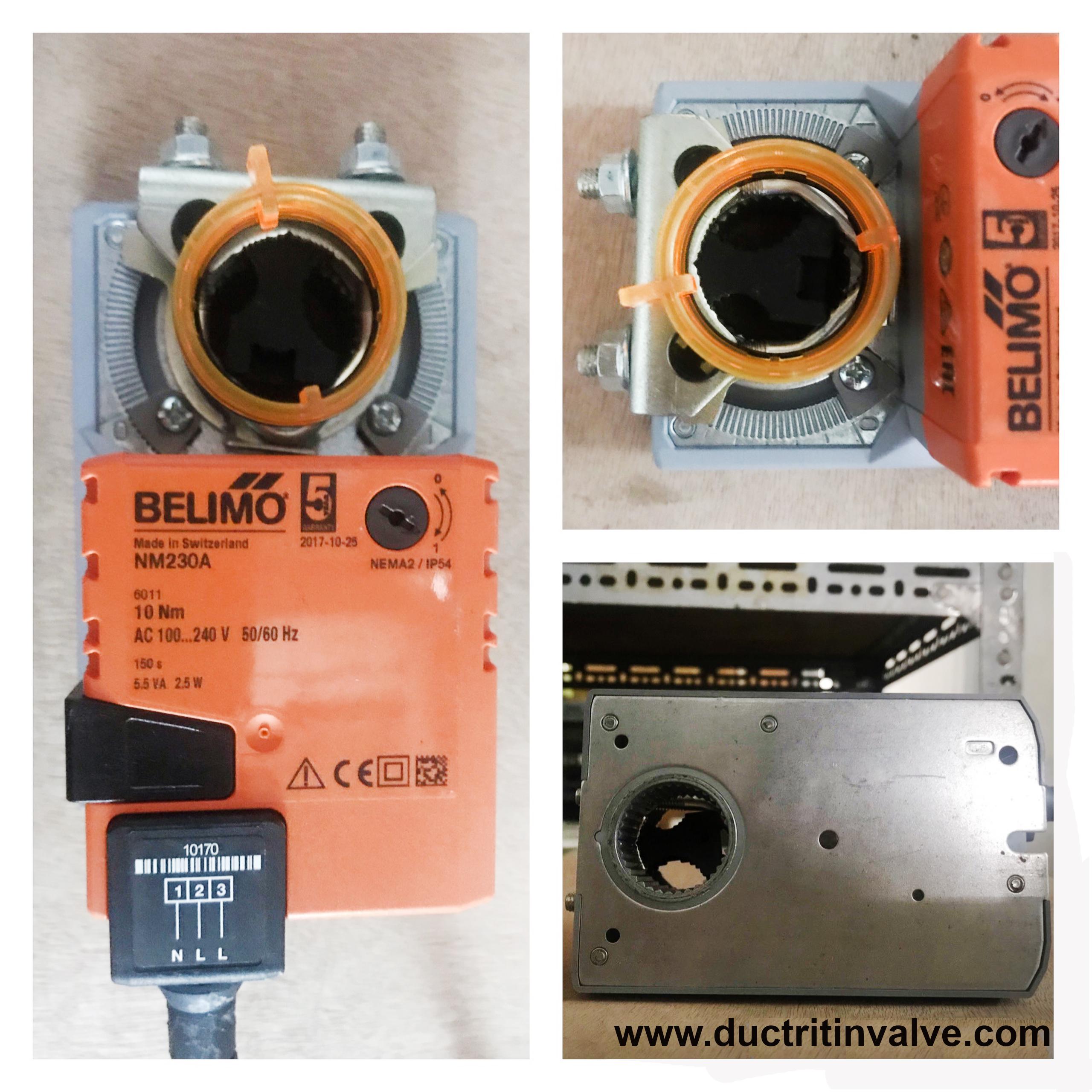 Động cơ điều khiển van gió Belimo