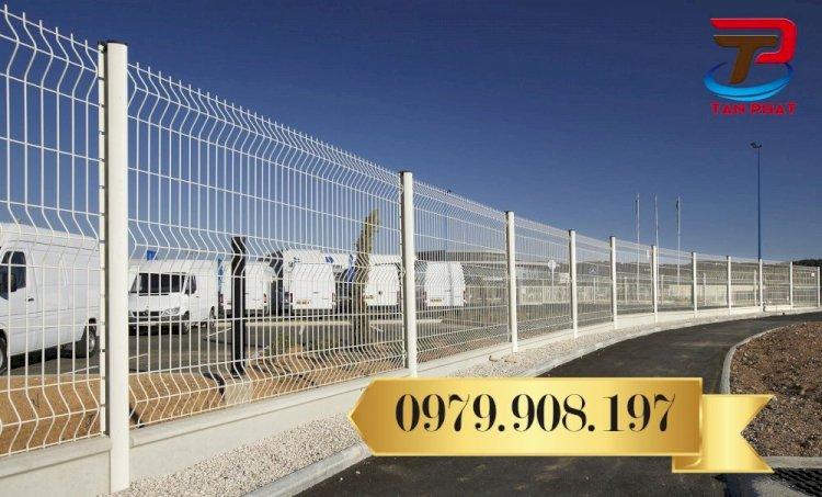 Hàng Rào Lưới Hàn Chấn Sóng