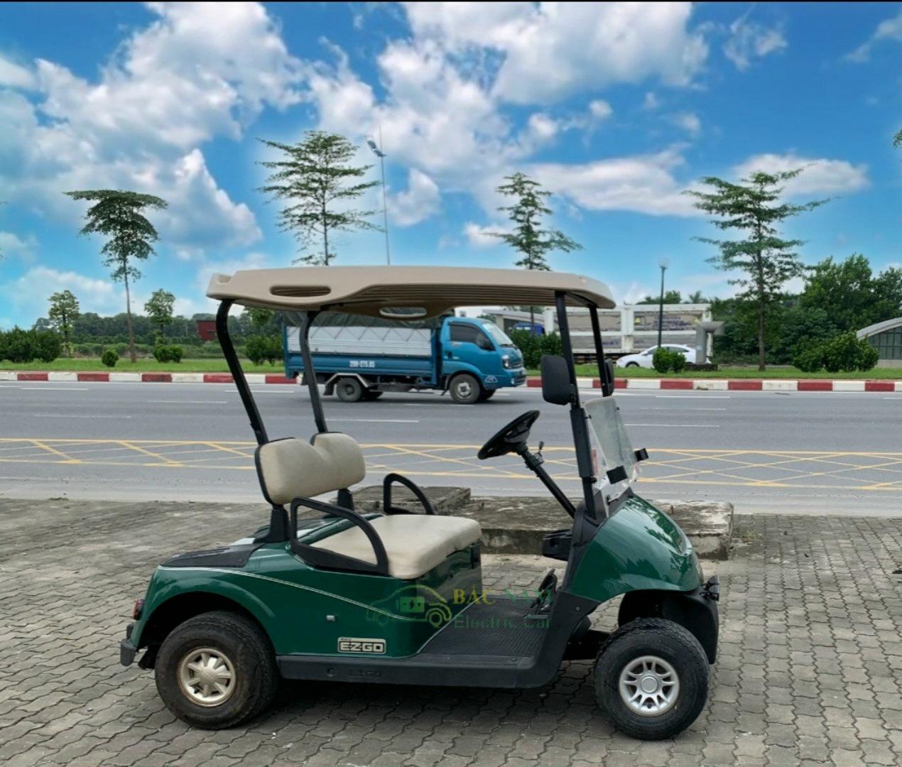 Xe Điện EZgo 2 chỗ ngồi, Xe điện đã qua sử dụng, mới 80%, Bảo hành 12 tháng