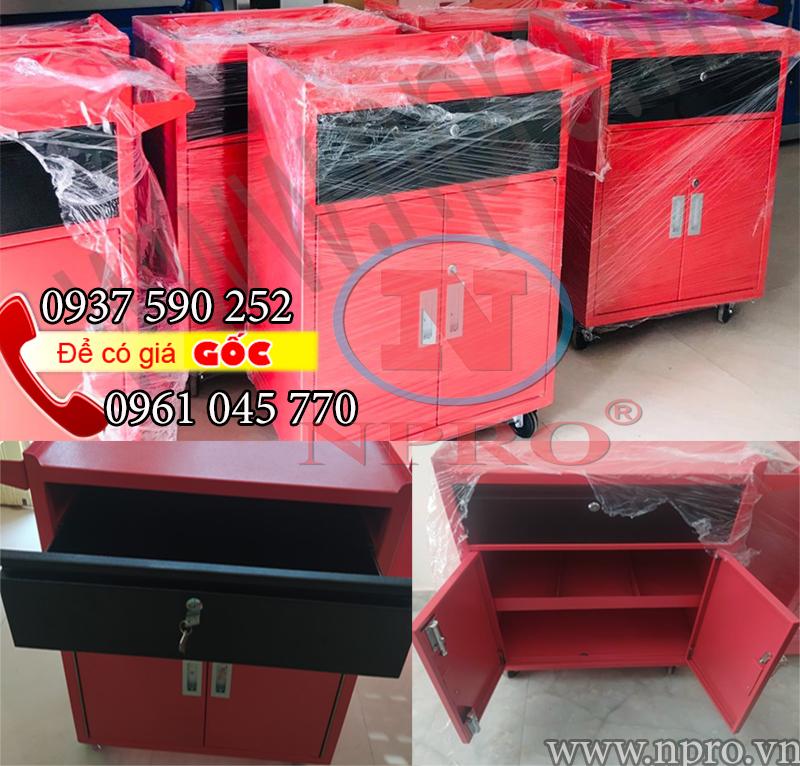 Tủ đựng đồ nghề 3 ngăn có 1 ngăn kéo giá rẻ nhất hiện nay