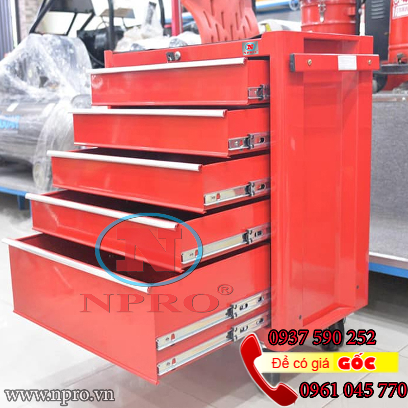 Tủ đựng dụng cụ 5 ngăn kéo gía tốt tại Tp.HCM