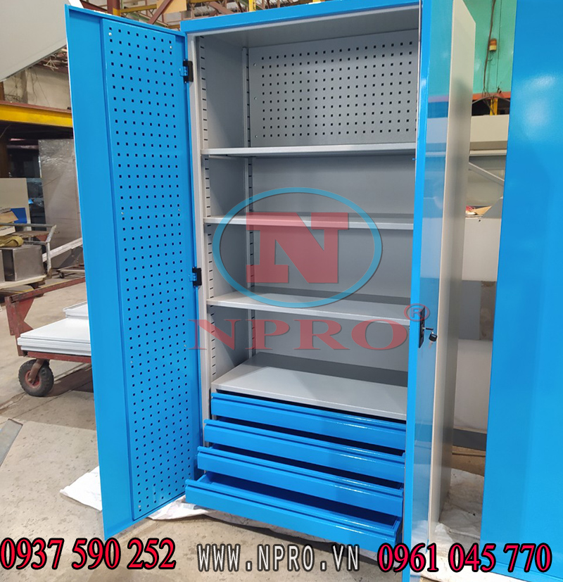 Tủ treo dụng cụ 2 cánh chất lượng - giá tốt tại Tp.HCM