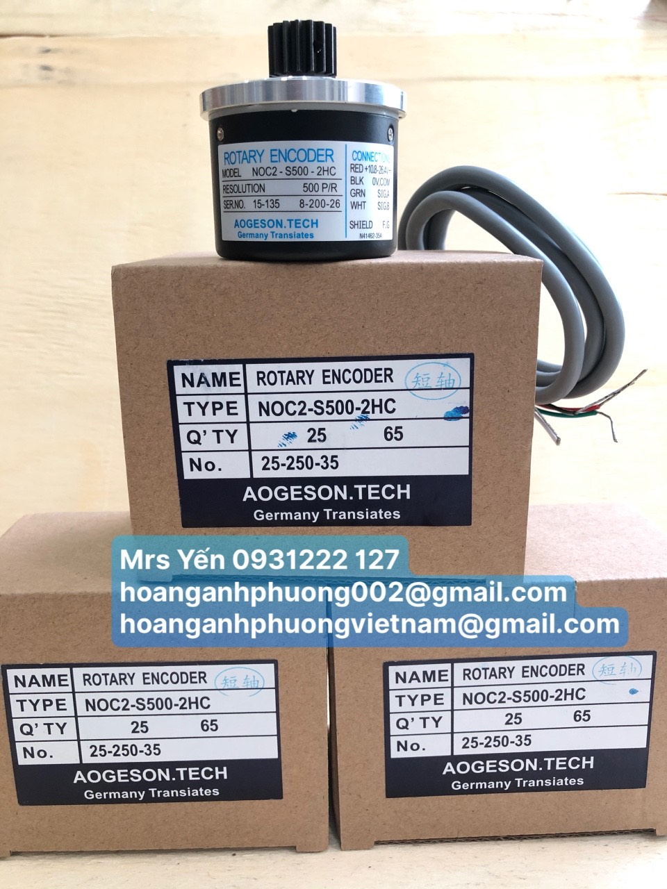 ROTAYRY ENCODER NOC2-S500-2HC