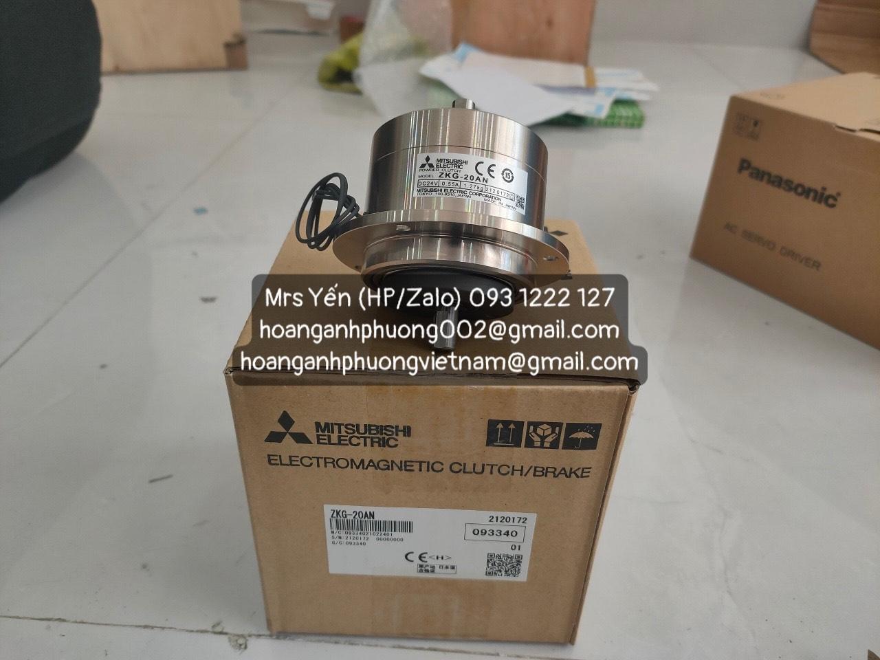 Thắng từ ZKG-20AN| Mitsubishi| Hàng nhập khẩu chính hãng mới 100%