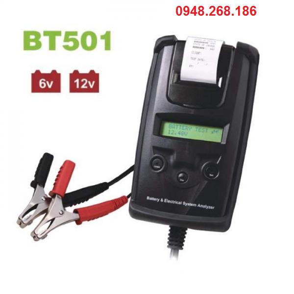 Thiết Bị Kiểm Tra Bình Ắc Quy DHC BT501 – Máy đo bình điện