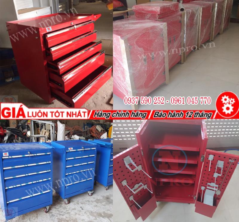 Tủ đồ nghề 5 ngăn, tủ sắt đựng đồ nghề 5 ngăn