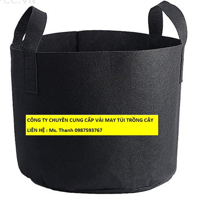 vải Nỉ , Felt , Xăm kim --> may túi Trồng cây bảo vệ môi trường