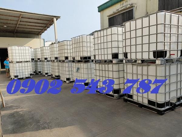 Tank nhựa 1000 lít IBC