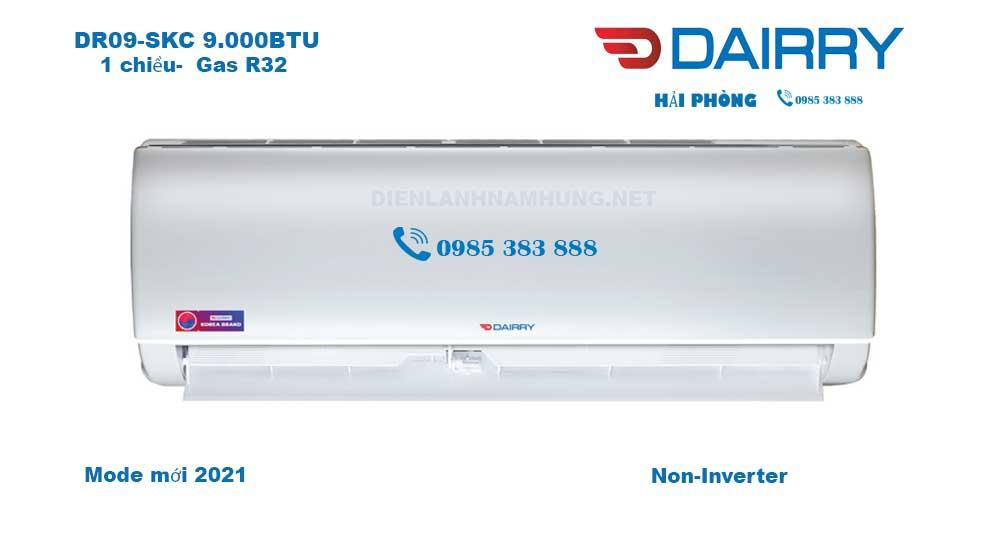 Điều hòa Dairry DR09-SKC -9.000BTU-Mới 2021 Giá Tốt Nhất Hải PHòng