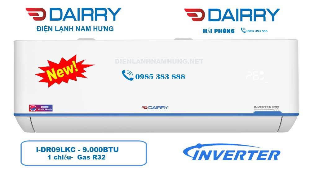 Phân Phối Điều hòa Dairry i-DR09LKC 9000BTU,1 chiều inverter tại Hải Phòng