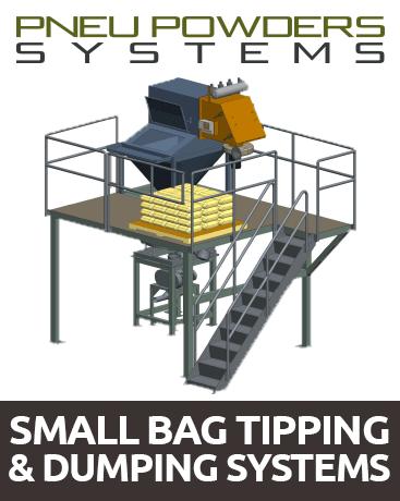 Hệ thống đổ bao nhỏ- Small bag tipping and dumping systems