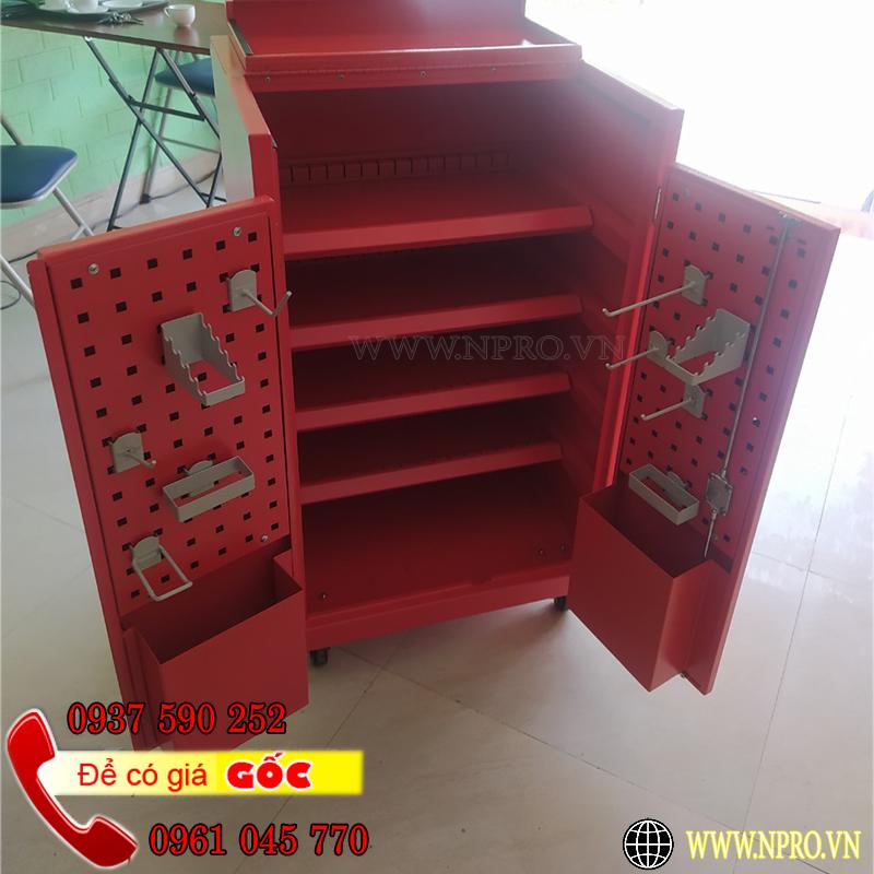 Tủ đồ nghề 5 ngăn 2 cánh Npro