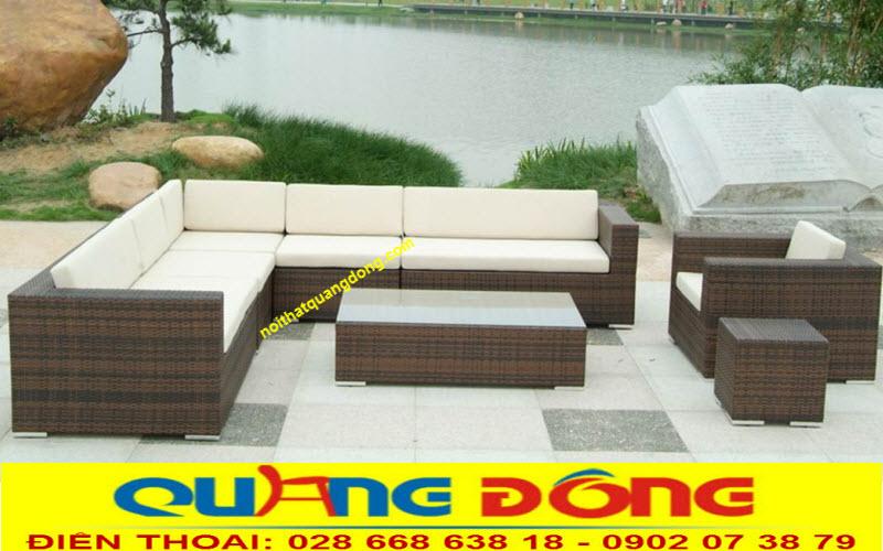 sofa giả mây QD-613