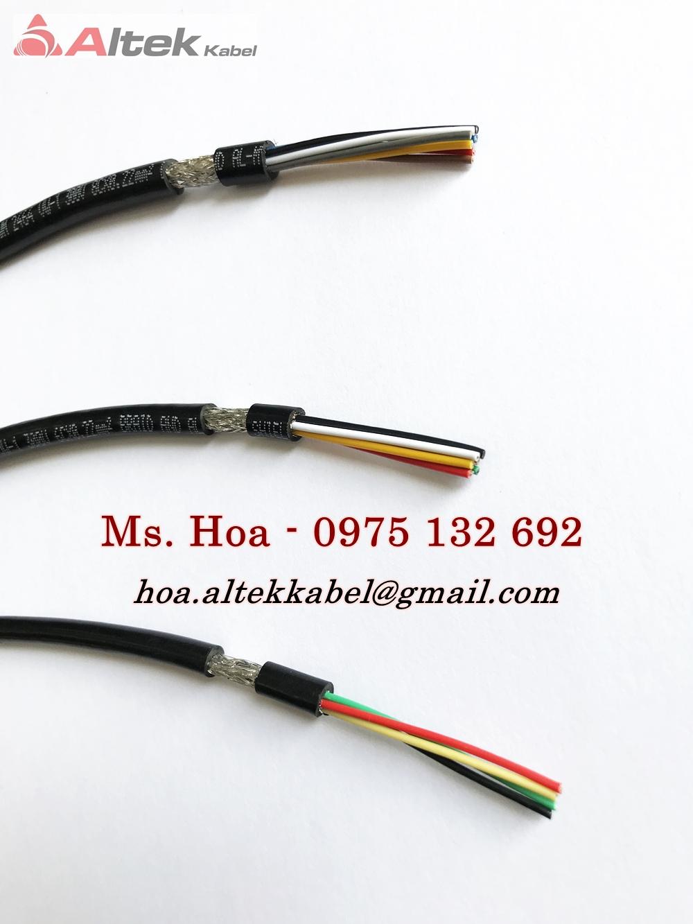 Cáp tín hiệu âm thanh 2x0.22mm2/Cáp tín hiệu chống nhiễu